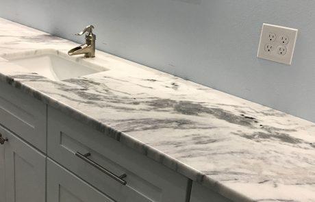 Quartzite Bathroom Counter