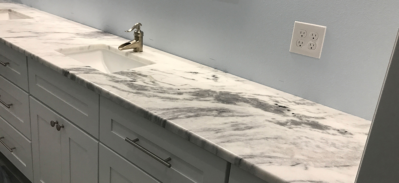 Quartzite Bathroom Counter